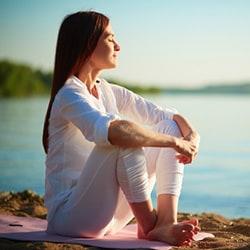happy with yoga