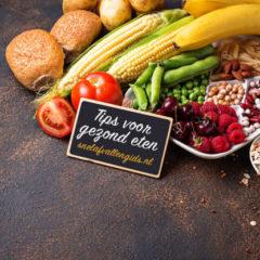 tips voor gezond eten