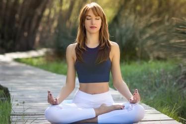 energie met yoga