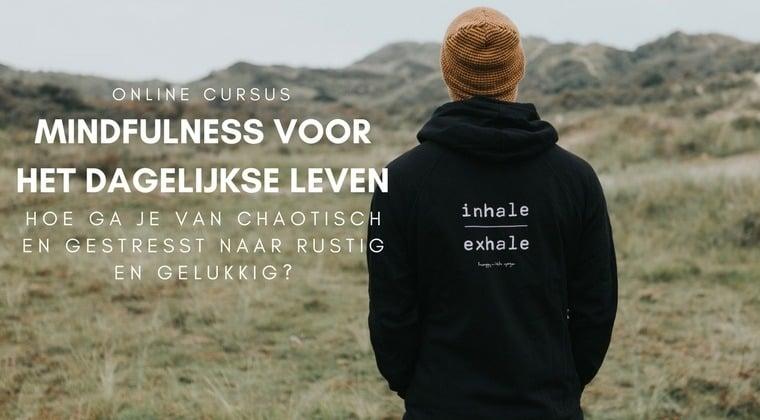 Mindfulness voor het dagelijkse leven banner 2