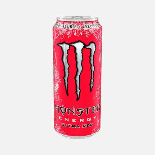Monste rEnergy Ultra red